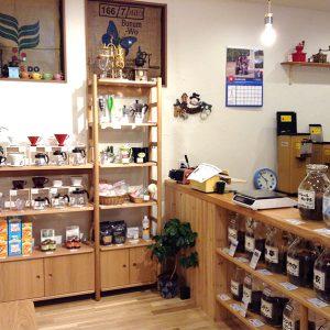 コーヒー棚